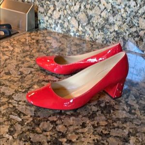 Kate Spade Red patent leather pumps Size 7 1/2 B